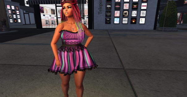 TGL GO Makeup Caroline Lipstick 9, TMC 4 EscalateD Avacyn, B!BH LBB Halloween Candy Dress_001