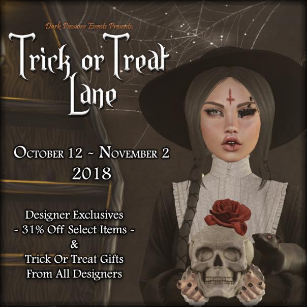Trick Or Treat Lane - Poster 2018