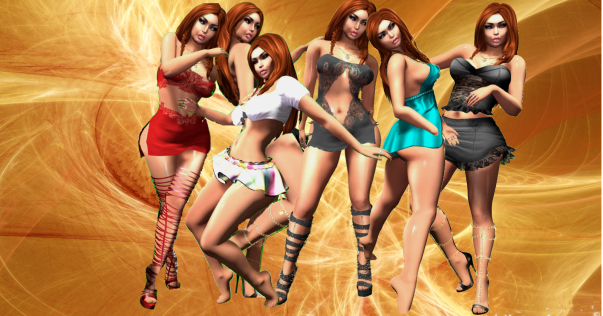 LBB Scarlett, Sexy Schoolgirl, Vivian, Victoria, Nicole, outfits
